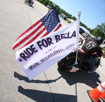 Ride for Bella Tucker Flag
